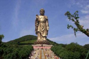 Grand Buddha at Lingshan, China