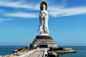Guan Yin of the South Sea of Sanya, China