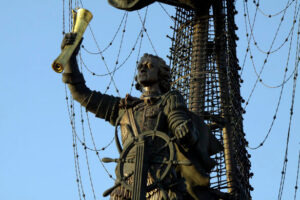 Peter the Great Statue. Russia