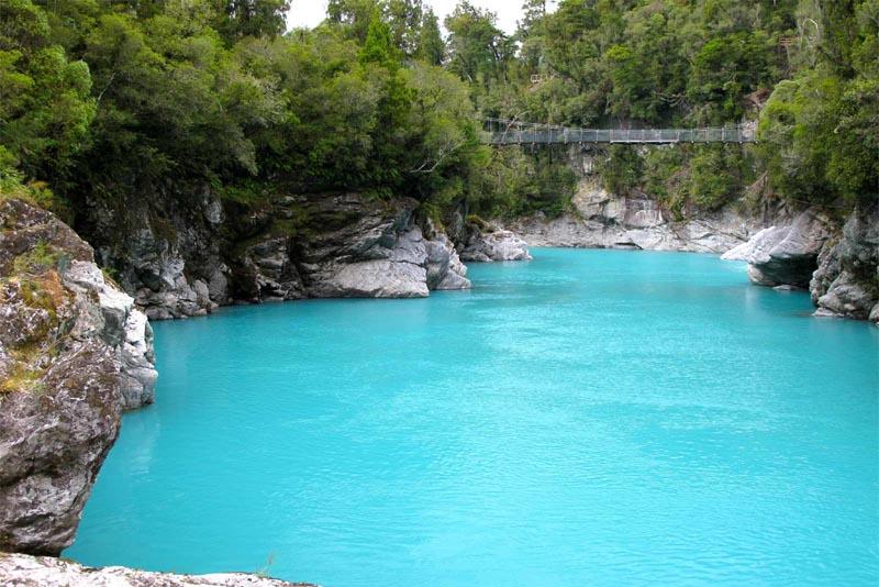 hokitika-gorge-beautiful-places-in-new-zealand
