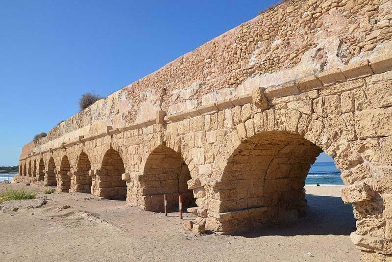 caesarea-aqueduct