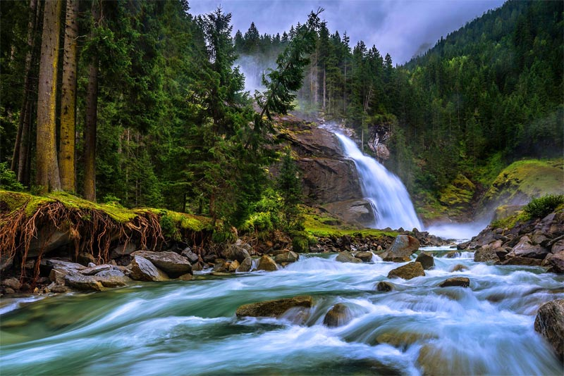 krimml-waterfalls-beautiful-places-in-austria