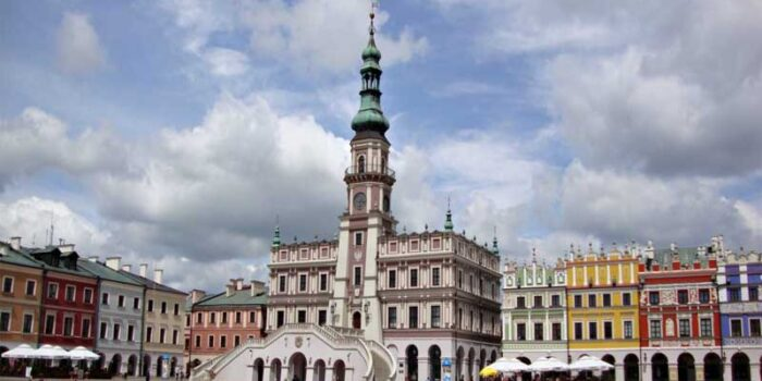 renaissance-zamosc-beautiful-places-in-poland