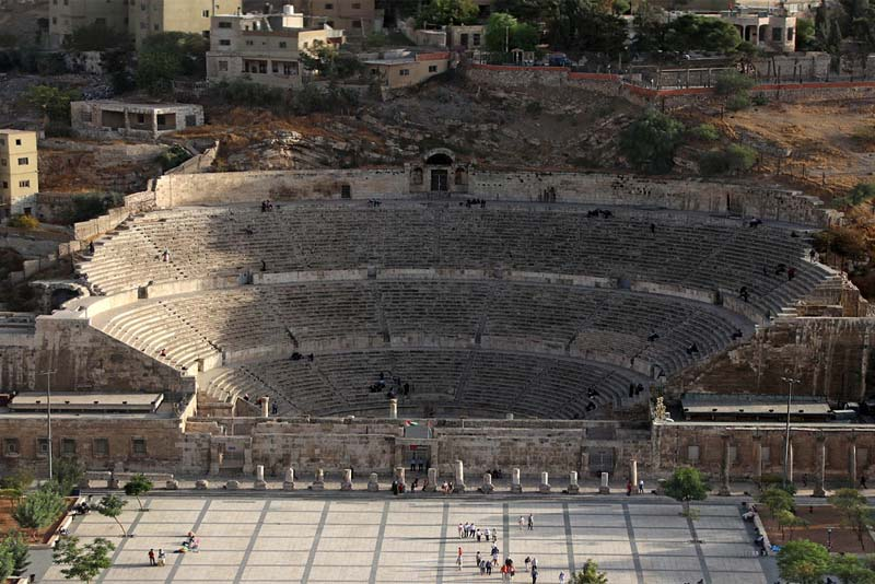 the-roman-theater-of-amman-historical-theaters