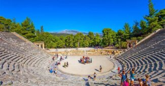 the-theater-of-epidaurus-historical-theaters