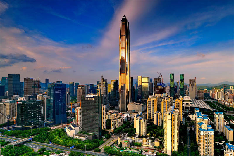ping-an-finance-center-tallest building